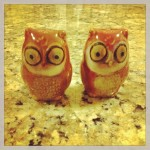 owl salt-and-pepper shakers